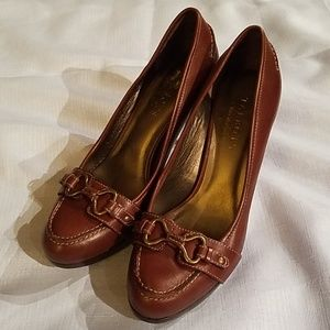 Talbots Genuine Leather Heel Pump